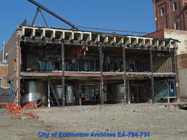 Demoliton of Molson's Building