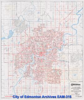 Edmonton Snow Route Guide 1994-95 -- Winter Season Snow Plowing and Removal Priority Routes