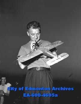 Model Airplane Club - W. Hall,  secretary.
