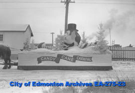 Santa Claus Parade Float - Candy Cane Carnival