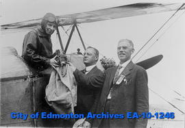 First Airmail Flight in Western Canada