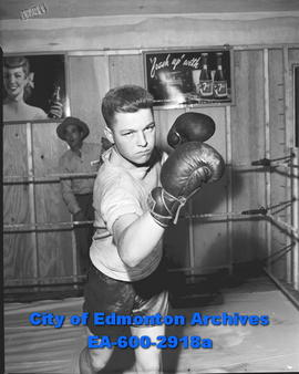 Bulletin Golden Gloves boxing champ Roy Olecko.