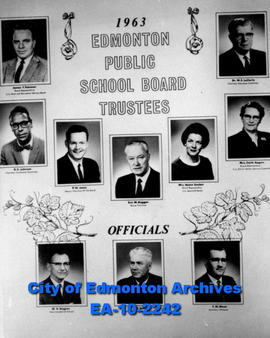 * Edmonton Public School Board Trustees & Officials * Edmonton Public School Board Trustees &...