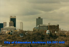Edmonton skyline from east