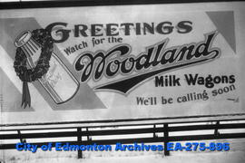 Sign - Woodland Dairy