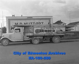 M.D. Muttart Lumber - Delivery Truck