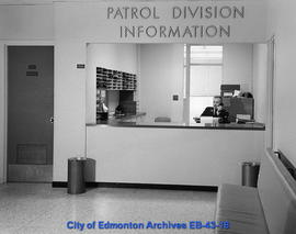Patrol Division Information Counter - Second Floor