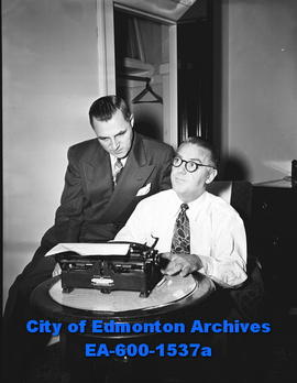 Edmonton and District Restaurant Association: Horace King, G.L. Wenzel.