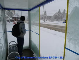 Bus Shelter - Interior