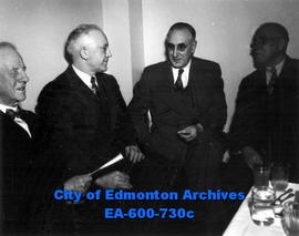 Ladies' Night banquet and dance, sponsored by the Edmonton Real Estate Association, at the Corona...