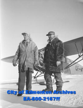"Arctic Feature: Matt Berry and Pilot Michael ""Mush"" Sharun."