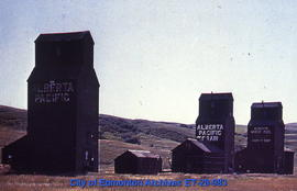 Whiskey Gap grain elevators