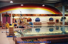 A.C.T. Recreation Centre pool interior facing north prior to renovation