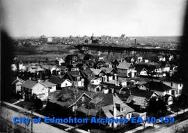 Edmonton-South Side-Looking Northeast from Garneau