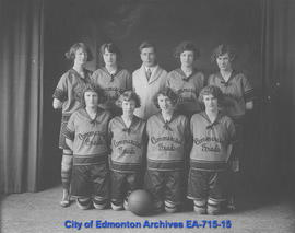 Commercial Graduates' Basketball Team, International Champions 1923-1923