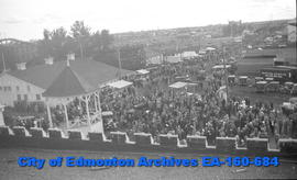 Edmonton Exhibition from Manufacturers Building