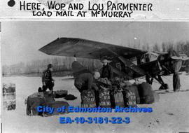Airmail Loading at Fort McMurray