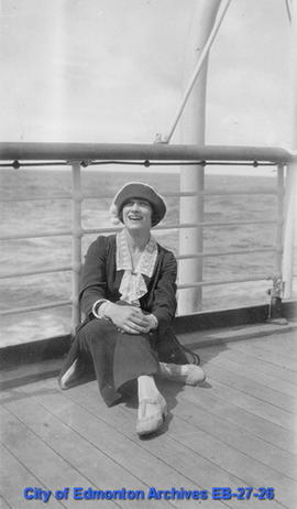 Connes Smith Aboard SS Mount Royal