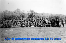 66th Overseas Battalion    Sarcee Camp