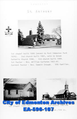 St. Anthony's Catholic Church Poster