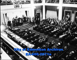 11th opening of Alberta Legislature.