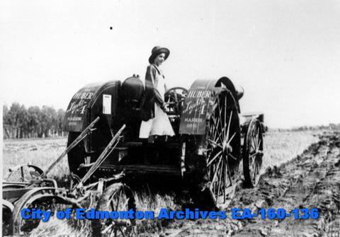 Tractor - City of Edmonton Archives