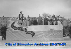 Santa Claus Parade Float - Old King Cole
