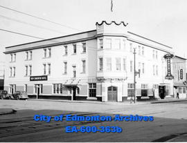 New Edmonton Hotel advertisement