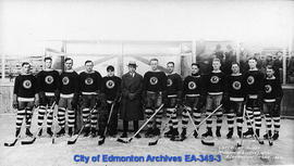 Edmonton Eskimos Hockey Team - 1925-26