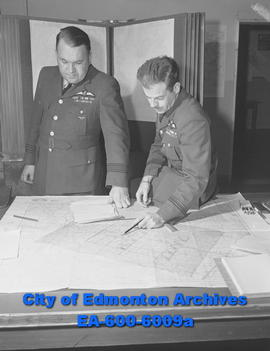 Search in miniature carried out by Sqd. Leader Charles Harris and Flt. Lt. Tony Morabito at North...