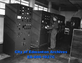 Royal Canadian Signal Corps maintains and operates a Canada-wide radio and teletype system in Cal...