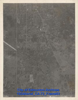 1924 Aerial Section 73, Frame 63