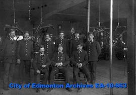 Edmonton Fire Dept.-First Paid Brigade