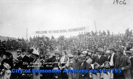 Duke of Connaught's Visit to Edmonton