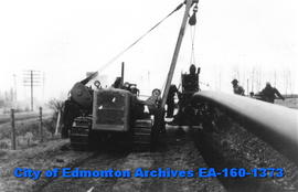 Pipeline Laying South of Edmonton