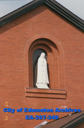 Statue at St. Mary Salesian School.