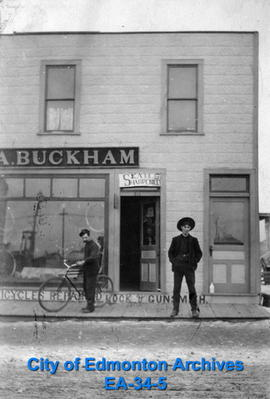 A. Buckham Bicyle Shop