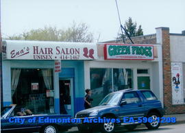Ena's Hair Salon;  Green Frogs