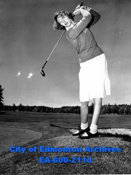 13th annual Alberta women's golf tournament, Paddy Arnold, silver division champion.