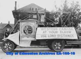 Edmonton Exhibition Parade - Float