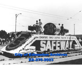 Parade - Safeway float