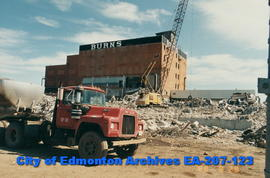 Burns Packing Plant - demolition