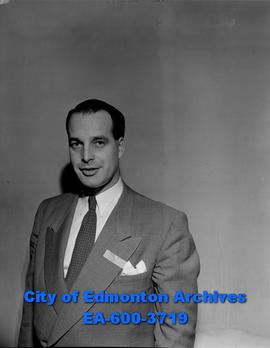 Jack Grahame, president of the Edmonton Transportation Club.