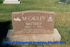 Gravestone - Matt McCauley