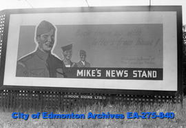 Sign - Mike's News Stand