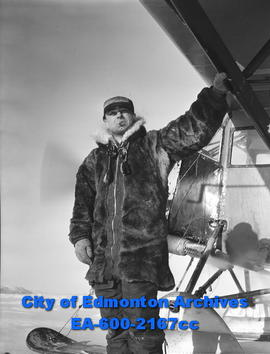 "Arctic Feature: Pilot Michael ""Mush"" Sharun."