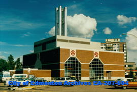 Glenrose Hospital power plant