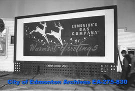 Sign - Edmonton's Gas Company