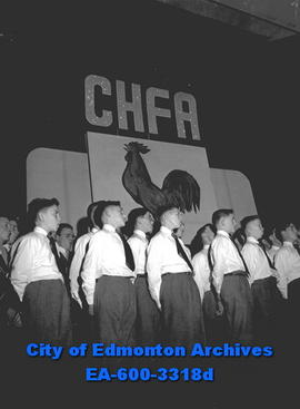 CHFA French Radio goes on the air.
