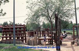 Children playing at Central McDougall playground